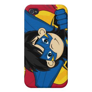Caso enmascarado del iphone 4 del super héroe iPhone 4 cárcasas