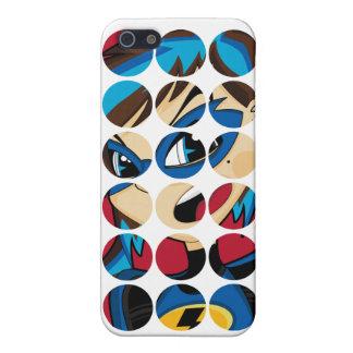 Caso enmascarado del iphone 4 del super héroe iPhone 5 funda
