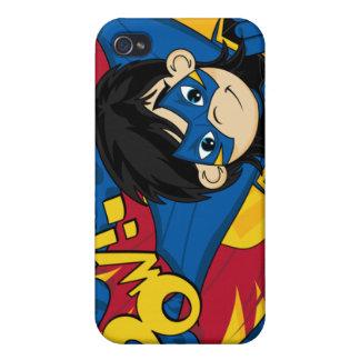 Caso enmascarado del iphone 4 del super héroe iPhone 4 coberturas