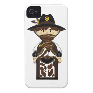 Caso enmascarado del iphone del sheriff del carcasa para iPhone 4 de Case-Mate