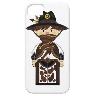Caso enmascarado del iphone del sheriff del funda para iPhone SE/5/5s