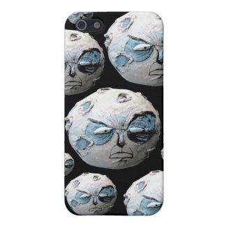 Caso enojado de Iphone 5 de la luna iPhone 5 Carcasa