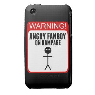Caso enojado del iPhone 3G/3Gs del Fanboy iPhone 3 Protector