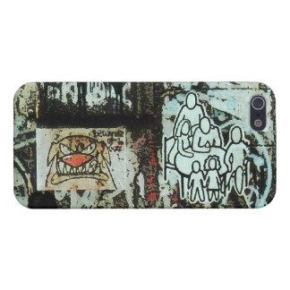 Caso enojado del iPhone 5 de la pintada de Soho de iPhone 5 Carcasas