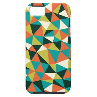 Caso enrrollado del iPhone 5 de los triángulos iPhone 5 Funda