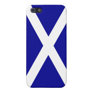 Caso escocés de IPhone de la bandera de Escocia iPhone 5 Carcasa