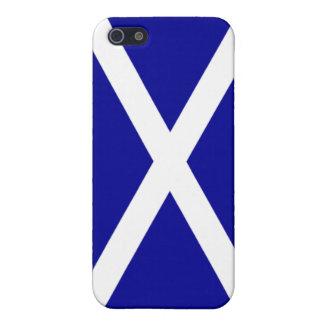 Caso escocés de IPhone de la bandera de Escocia iPhone 5 Carcasas