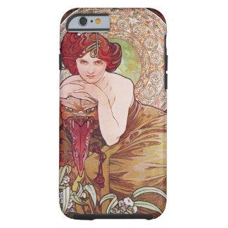 Caso esmeralda del iPhone 6 de Mucha Funda De iPhone 6 Tough