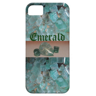 Caso esmeralda del iPhone del modelo iPhone 5 Cárcasa
