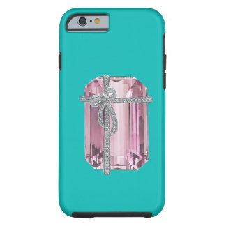 Caso esmeralda rosado del iPhone 6 de los Funda De iPhone 6 Tough