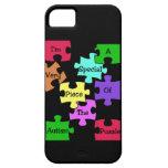 Caso especial del iPhone 5 del pedazo del rompecab iPhone 5 Cárcasas