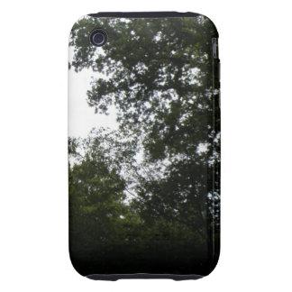 Caso espeluznante del iPhone 3 del bosque iPhone 3 Tough Coberturas