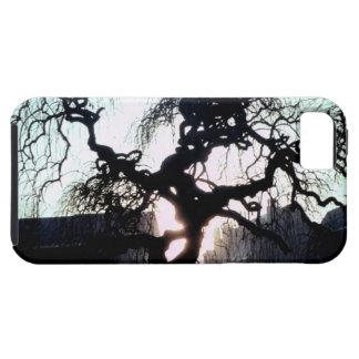 Caso espeluznante del iPhone 5 del árbol Funda Para iPhone SE/5/5s