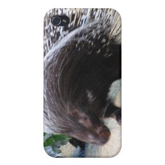 Caso espinoso del iPhone 4 del puerco espín iPhone 4 Cobertura