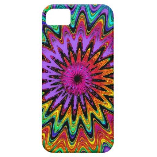 Caso espiral abstracto fresco del iPhone 5 iPhone 5 Fundas
