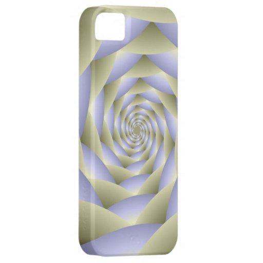 Caso espiral del iPhone 5 del túnel iPhone 5 Coberturas