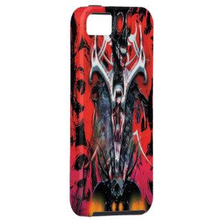 Caso esquelético del iPhone 5 de la sangre malvada iPhone 5 Case-Mate Coberturas