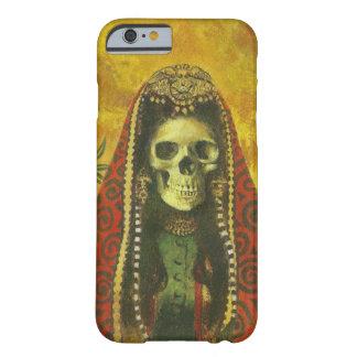 Caso esquelético gótico del iPhone 6 de la bruja Funda De iPhone 6 Barely There