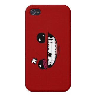 Caso estupendo del iPhone del muchacho de la carne iPhone 4/4S Funda