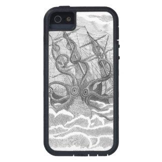 Caso estupendo extremo de Kraken del sushi del Funda Para iPhone 5 Tough Xtreme