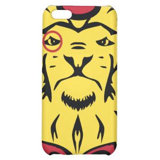 Caso excelente de Iphone de los leones