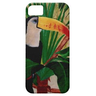 Caso exótico del pájaro iPhone5 de la selva de la Funda Para iPhone SE/5/5s