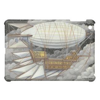 Caso expreso del iPad de Steampunk del dirigible