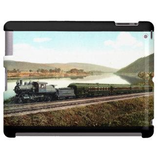 Caso expreso del iPad del diamante negro de LVRR Funda Para iPad
