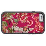 Caso extremo duro del iPhone 6 florales de los Funda De iPhone 6 Tough Xtreme