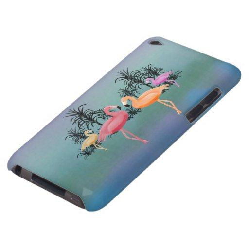 Caso fabuloso del tacto de IPod de los flamencos iPod Touch Case-Mate Carcasas