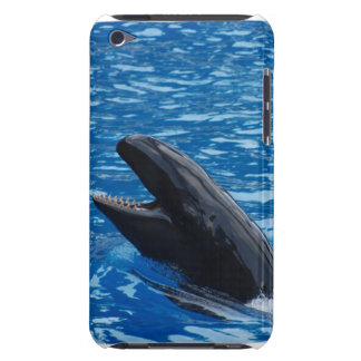 Caso falso de iTouch de la orca Barely There iPod Carcasa