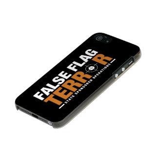 Caso falso del iPhone 5/5s del terror de la Funda Para iPhone 5 Incipio Feather Shine