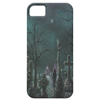 Caso fantasma del iPhone 5 del cementerio iPhone 5 Case-Mate Protector