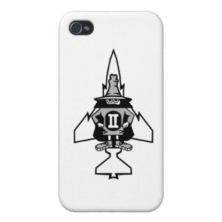Caso fantasma del iphone F-4 iPhone 4 Cárcasa