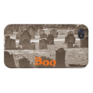 Caso fantasmagórico del iPhone 4 del cementerio iPhone 4 Cárcasas