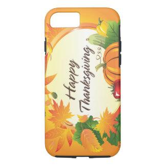 Caso feliz de la acción de gracias 5 funda iPhone 7
