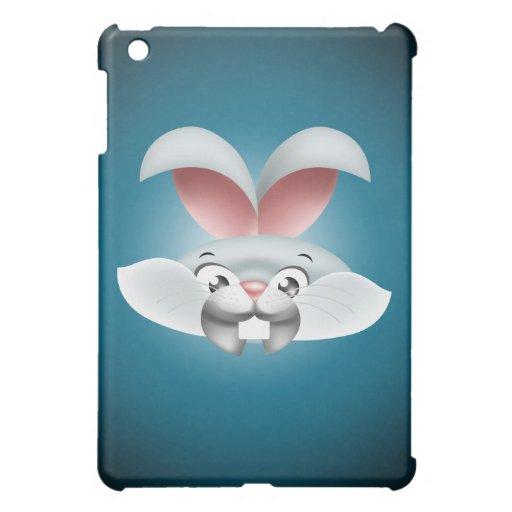 Caso feliz del iPad del conejo