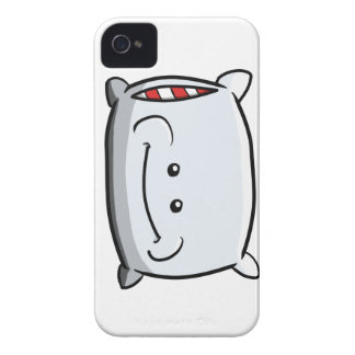 Caso feliz del iPhone 4 de la almohada Case-Mate iPhone 4 Coberturas
