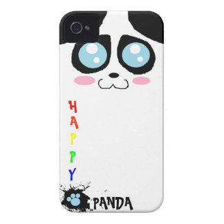 caso feliz del iphone 4 de la panda iPhone 4 carcasa