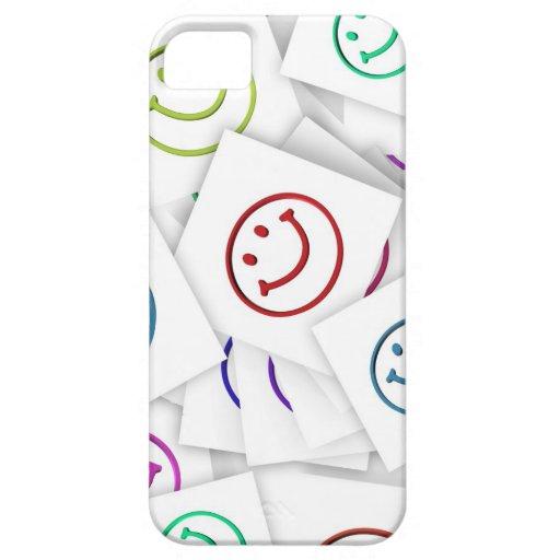 Caso feliz del iphone 5 de la cara iPhone 5 carcasa