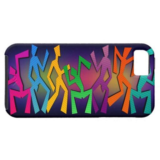 Caso feliz del iPhone 5 de la danza iPhone 5 Funda