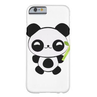Caso feliz del iPhone 6 de la panda del bebé