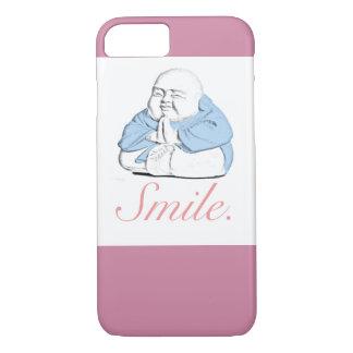 """Caso feliz del iPhone 7 de la """"sonrisa"""" de Buda Funda iPhone 7"""