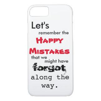 Caso feliz del iPhone 7 de las letras de los Funda iPhone 7