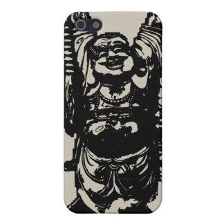 Caso feliz del iPhone de Buda iPhone 5 Funda