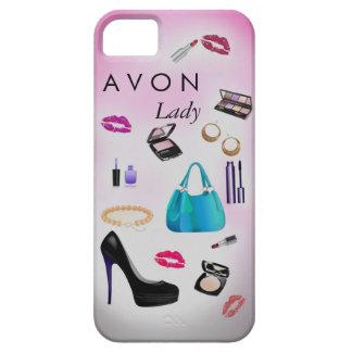 Caso femenino de Iphone de la moda del maquillaje iPhone 5 Carcasas