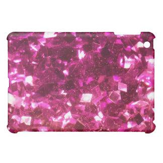 Caso femenino del iPad de los cristales del brillo