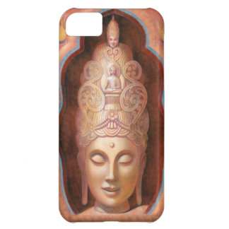Caso femenino del iPhone 5 de Buda Kuan Yin