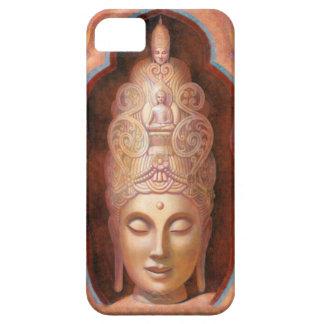 Caso femenino del iPhone 5 de Buda Kuan Yin iPhone 5 Case-Mate Funda