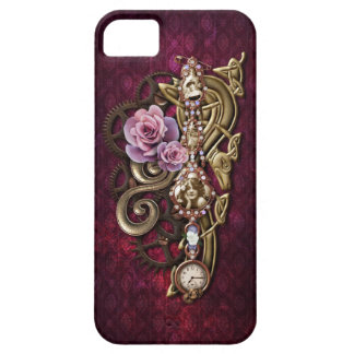 Caso femenino del iPhone 5 de Steampunk iPhone 5 Funda